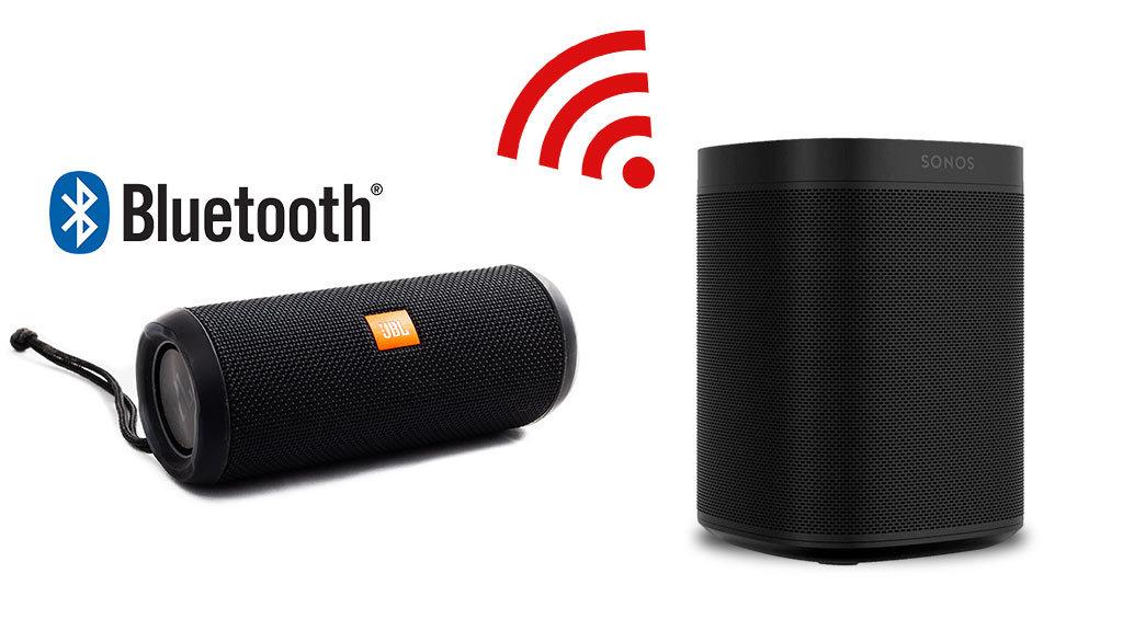 Bluetooth Speaker vs. Sonos - Differenze